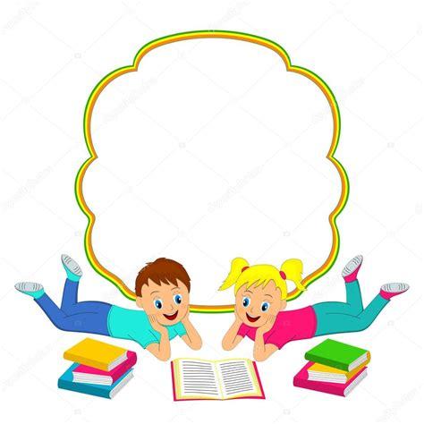 libro actividades para el marco marco con los ni 241 os ni 241 o y ni 241 a leyendo un libro vector de stock 169 iris828 80434840