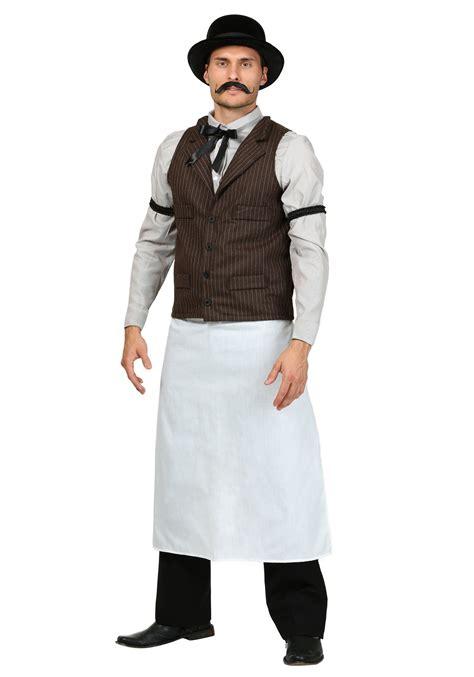 west bartender costume