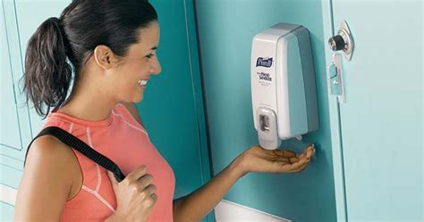 purell hand sanitizers  dispensers