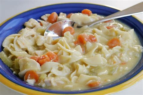 easy chicken noodle soup recipe dishmaps