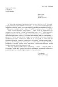 Cv Curriculum Vitae by Szablon Listu Motywacyjnego