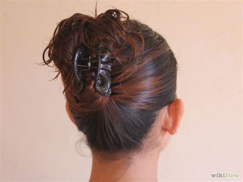 hairstyles when hair is up put your hair up with a jaw clip claw clip hair style