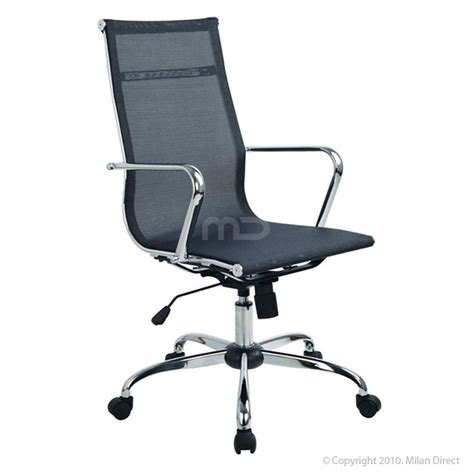 high back mesh chair new eames replica mesh high back executive office chair ebay