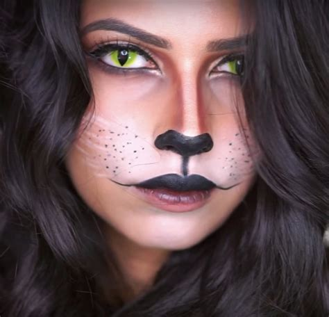 cat halloween makeup popsugar beauty