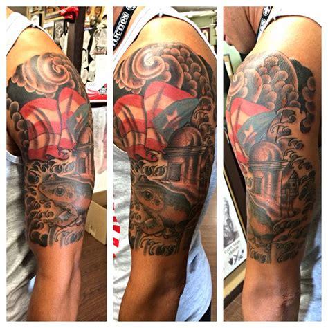 tattoo ideas puerto rico puerto rico half sleeve tattoos pinterest half