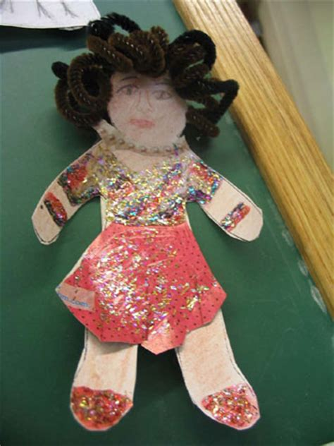 design a doll of yourself lesson plan paper art dolls identity