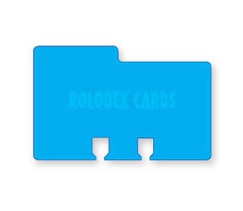 Rolodex Cards Die Cut Contact Cards Avery Rolodex Template