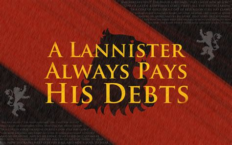 Haus Lannister by House Lannister Of Thrones Wallpaper 36255363