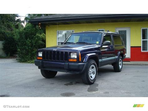 1999 patriot blue pearl jeep sport 18573248 gtcarlot car color galleries