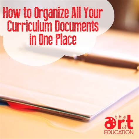 How To Organize Documents
