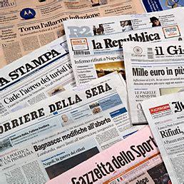 testate dei giornali la liberta di sta neliitalia repubblicana