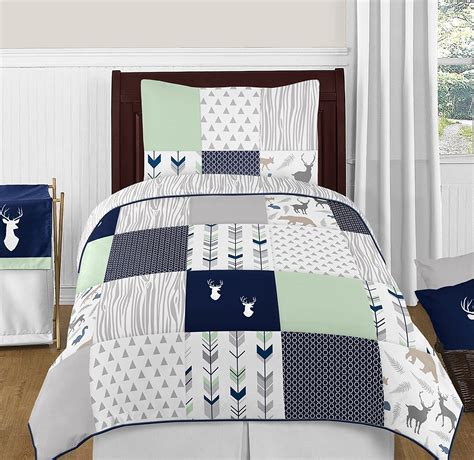 Navy Blue And Gray Bedding by Best Beautiful Boys Bedding Sets Ease Bedding With Style
