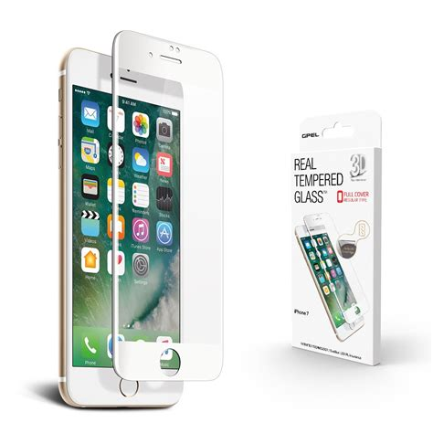 Kingkong Tempered Glass Iphone 7 3d Curved White 9h Premi Asli iphone 7 screen protector high definition hd 3d curved tempered glass premium collection