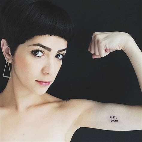feminist tattoo tash oakley pictures and information popsugar