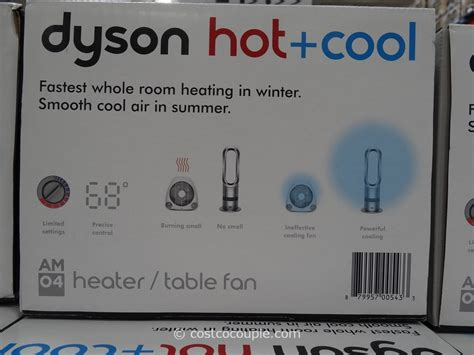 dyson fan heater costco dyson and cold bladeless heater fan