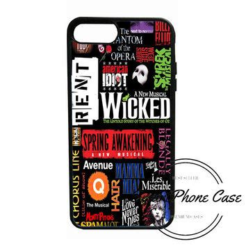 Newsies Broadway Musical F0551 Casing Iphone 7 Custom Cover best broadway collage products on wanelo