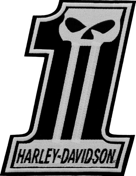 Emblem Logo Harley Davidson Nomor 1 Number One harley skull 1 logo www imgkid the image kid has it