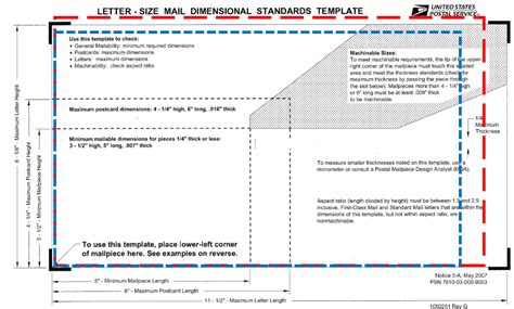 letter size mail dimensional standards template how can i save money on mailroom deliveries in nyc need