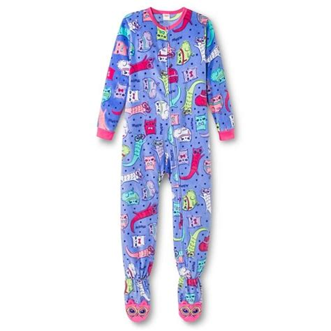 footed sleeper pajamas target