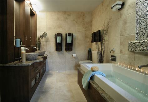 Modern Bathrooms Houzz Contemporary Rustic