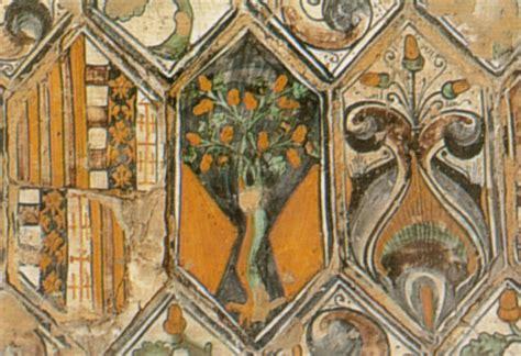 piastrelle deruta cappella basso della rovere di pinturicchio pintoricchio