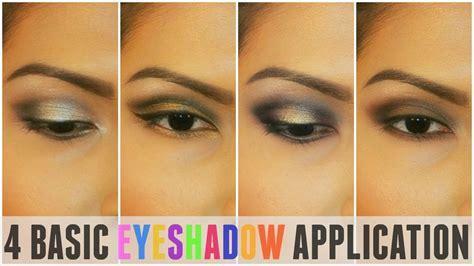 Eyeshadow Application 4 basic eyeshadow application tutorial for beginners