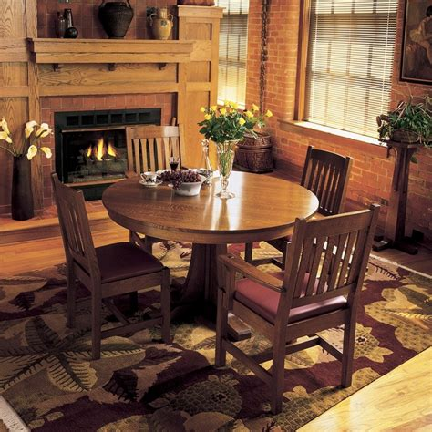 craftsman dining room table round pedestal dining table dining room craftsman with