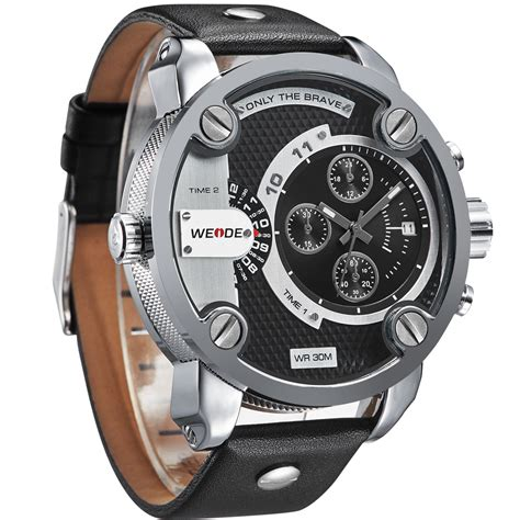 Sports 30m Water Resistance Wh3315 Jam Tangan P Murah jual weide japan quartz miyota leather sports