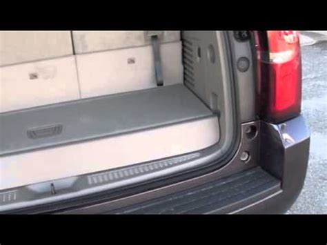 chevy tahoe third row seat removal how to adjust the third row seating in the 2015 chevrolet