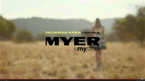 meyer australia tv ad myer the colours of summer