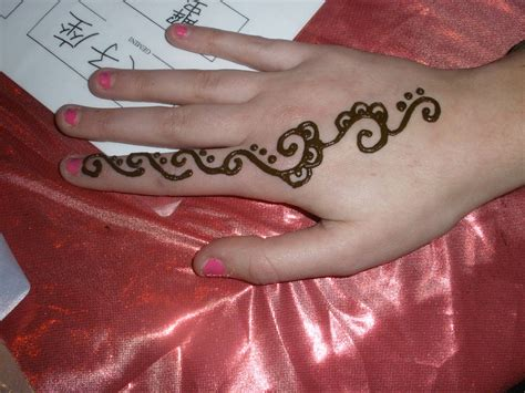 henna tattoo simple hand henna designs easy makedes