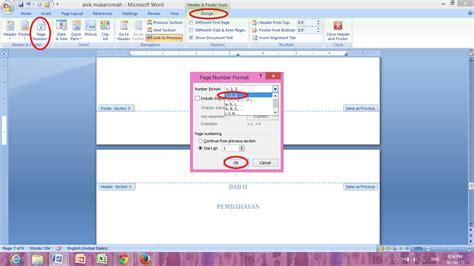 cara membuat daftar isi romawi dan angka cara membuat daftar isi otomatis daftar gambar daftar