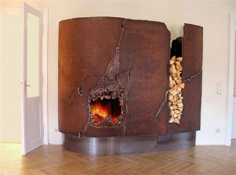 Rust Fireplace by 20 Fireplace Mantels To Set Your Fireplace On