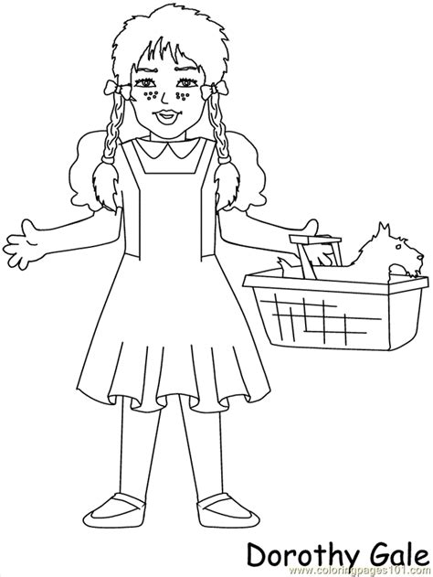 munchkins of oz coloring pages