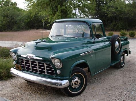 Wonderful Vintage Style Car Radio #12: 1956-chevy-pickup-front.jpg