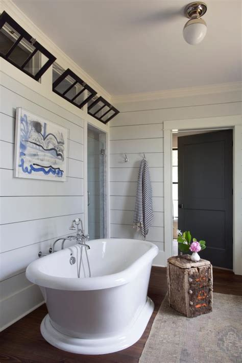 Gray Shiplap Wall How To Use Shiplap In Every Room Of Your Home Hgtv S