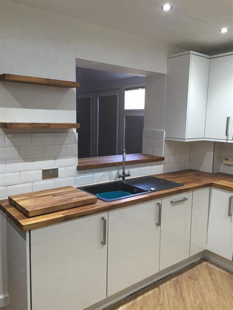 modern ikea kitchen with wooden worktops and a combination customer kitchen wooden worktop gallery worktop express