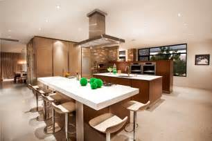 Open Floor Plan Kitchen Dining Living Room Photo 1 Design Pictures Of Open Floor Plans Decorated