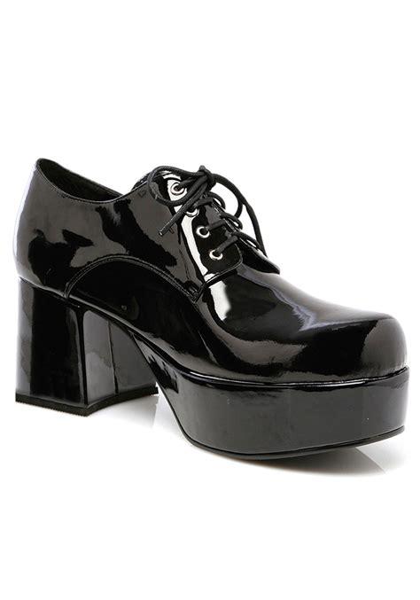 s black pimp shoes