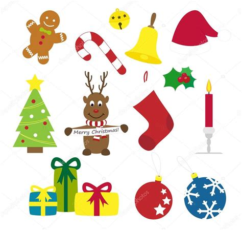 clipart collection free things vector illustration collection stock