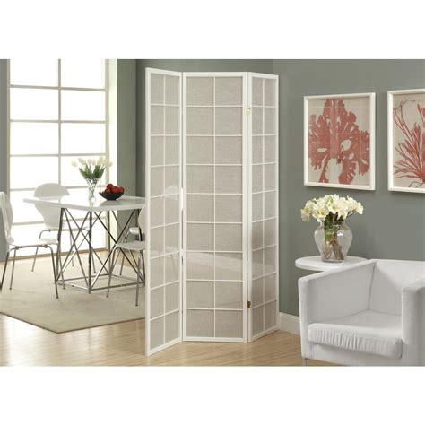 room dividers home depot home decorators collection 4 panel shoji screen room divider with finish r5442 4 the
