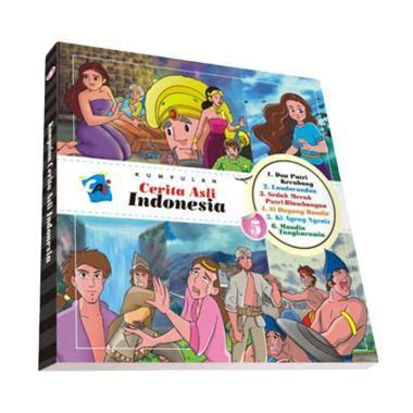 daftar film non fiksi jual elexmedia kumpulan cerita asli indonesia vol 5 buku