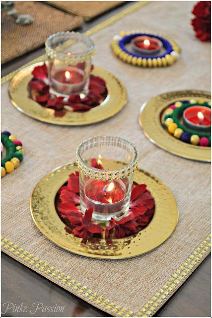 home table decorations 25 best ideas about diwali decorations on