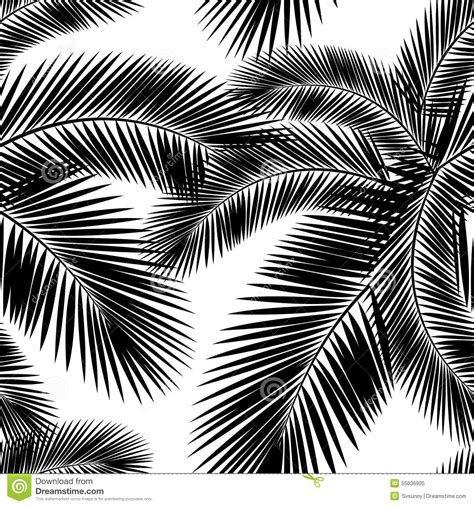 abstract paintings coloring book a different of grayscale coloring books seamless color palm leaves pattern flat style black and