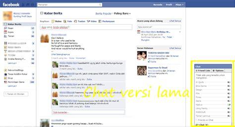 fb jad taman pojok membuat chat fb jadi versi lama dengan addons