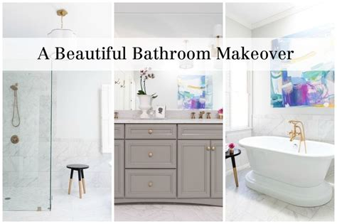 win bathroom makeover this outdated bathroom makeover is a before and after win