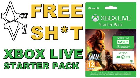Free Xbox Live Gold Giveaway - epic free giveaway xbox live gold starter pack youtube