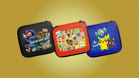 New 2ds Xl Hori Slim Pouch three new 2ds pouches sporting favorite nintendo characters are coming soon nintendo wire