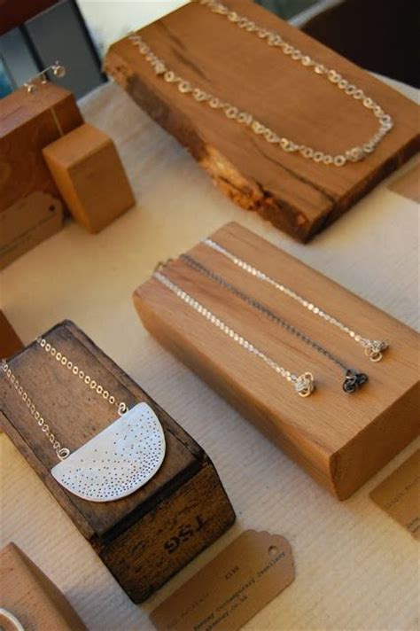 25 best ideas about wooden jewelry display on