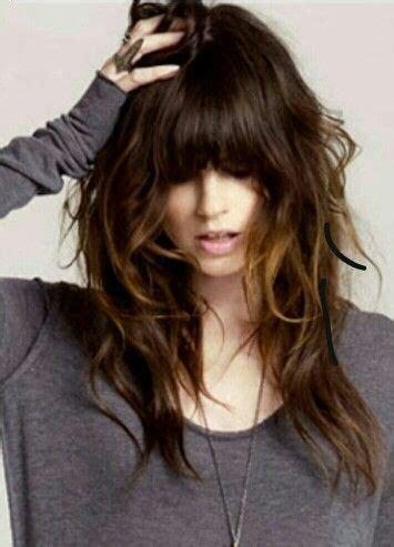 ponytail shag diy haircut 17 best ideas about half moon bangs on pinterest bangs